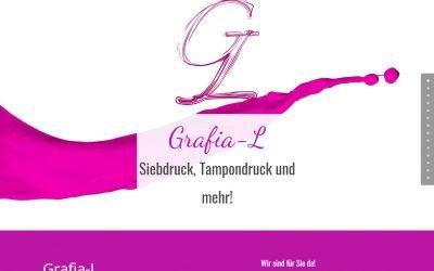 Grafia-L mit neuer Website