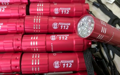 Taschenlampen für die Feuerwehr